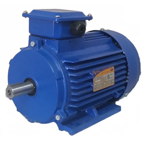 5АИ56B4 электродвигатель 0.18 кВт 1500 об/мин (трехфазный 220/380) Элком Китай