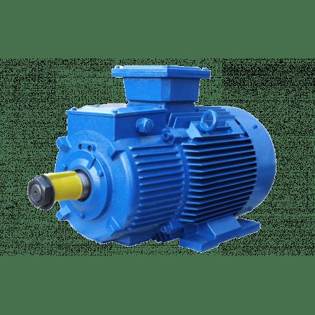 MTH132LB6 электродвигатель 7.5 кВт 1000 об/мин 220/380В крановый с фазным ротором