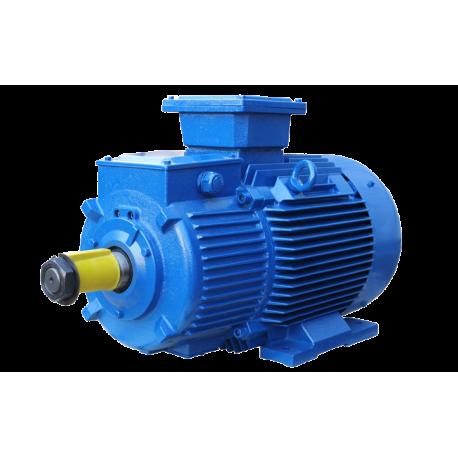 MTH211-6 электродвигатель 7.5 кВт 1000 об/мин 220/380В крановый с фазным ротором