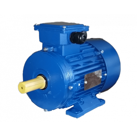 АИС100LA4 электродвигатель 2.2 кВт 1420 об/мин (трехфазный 220/380) Элмаш Россия