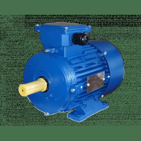 АИР63А6 электродвигатель 0.18 кВт 870 об/мин (трехфазный 220/380) Элмаш Россия