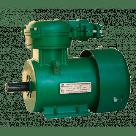 АИМЛ63В2 электродвигатель взрывозащищенный 0.55 кВт 3000 об/мин СЭГЗ