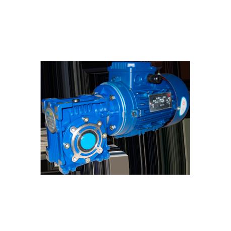 Червячный мотор-редуктор NMRV075 - 10:1 - 280.0 об/мин - 3 кВт