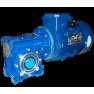 Червячный мотор-редуктор NMRV090 - 7.5:1 - 373.3 об/мин - 4 кВт