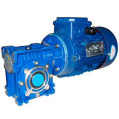 Червячный мотор-редуктор NMRV075 - 15:1 - 93.3 об/мин - 3 кВт