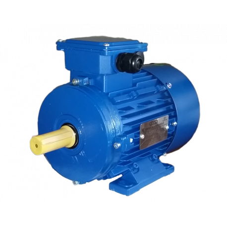 АИР63В6 электродвигатель 0.25 кВт 870 об/мин (трехфазный 220/380) Элмаш Россия
