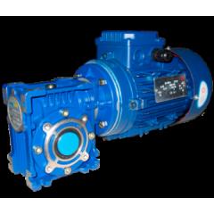 Червячный мотор-редуктор NMRV030 - 20:1 - 45.0 об/мин - 0.12 кВт