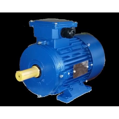АИС80А4 электродвигатель 0.55 кВт 1390 об/мин (трехфазный 220/380) Элмаш Россия