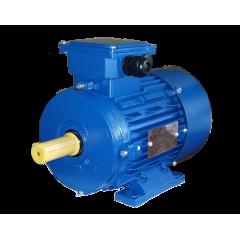 АИР71В4 электродвигатель 0.75 кВт 1390 об/мин (трехфазный 220/380) Элмаш Россия