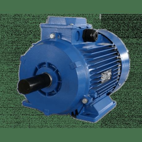 АДМ80В6 электродвигатель 1.1 кВт 1000 об/мин (трехфазный 220/380) Уралэлектро Россия