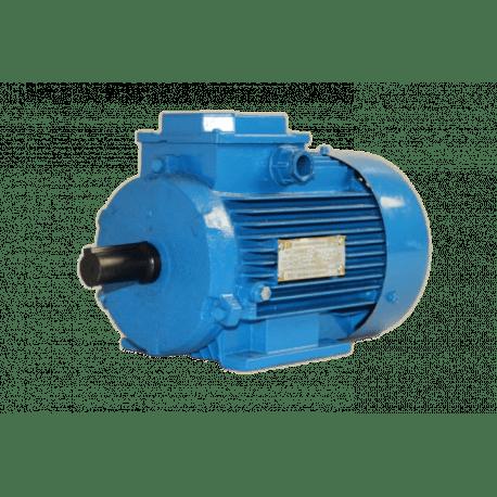 АИР132М4 электродвигатель 11 кВт 1450 об/мин (трехфазный 220/380) МЗЭ Беларусь