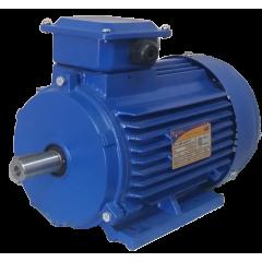 5АИ71B6 электродвигатель 0.55 кВт 1000 об/мин (трехфазный 220/380) Элком Китай