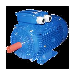 АИРМ132Б4 электродвигатель 7.5 кВт 1450 об/мин (трехфазный 220/380) ВЭМЗ Россия