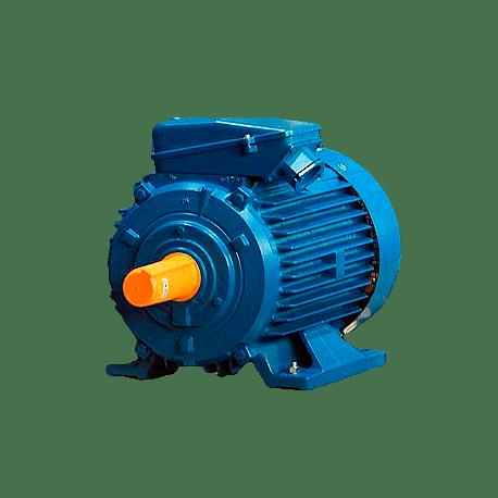 А80А2 электродвигатель 1.5 кВт 2820 об/мин (трехфазный 220/380) ЭЛДИН Россия