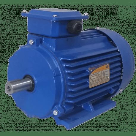 5АИ80B6 электродвигатель 1.1 кВт 1000 об/мин (трехфазный 220/380) Элком Китай
