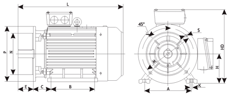 Электродвигатель для сверлильного станка на 220 вольт