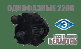Однофазные электродвигатели 220В